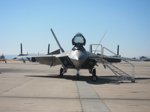 F-22 Raptor at the MCAS Miramar Air Show 2012