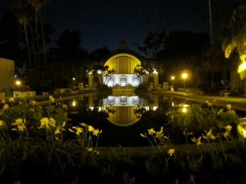 The Lily Pond in Balboa Park, San Diego