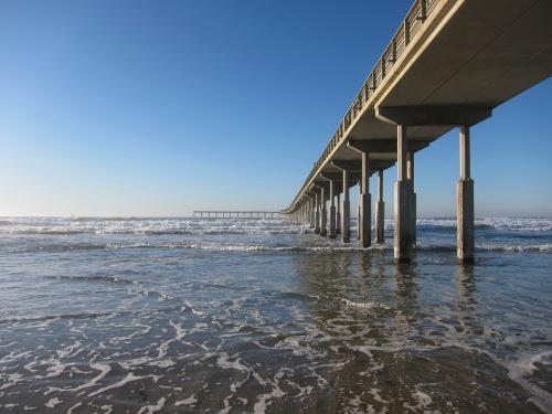 The Ocean Beach Pier in San Diego