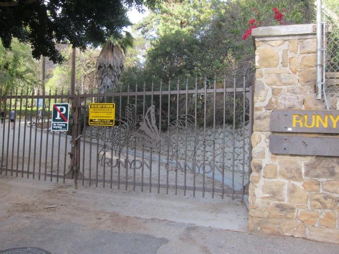 Runyon Canyon Park Front Gate