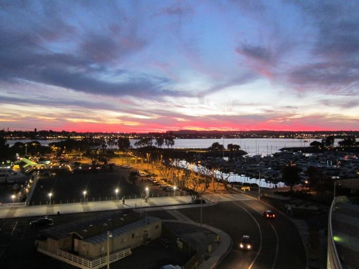 sd sunset 15dec13