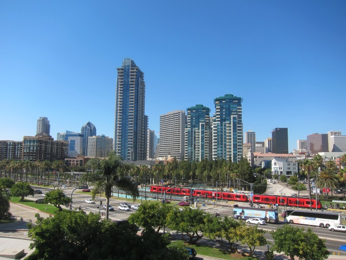 The Marina District in San Diego
