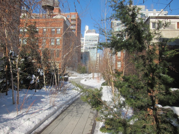 The High Line, facing North