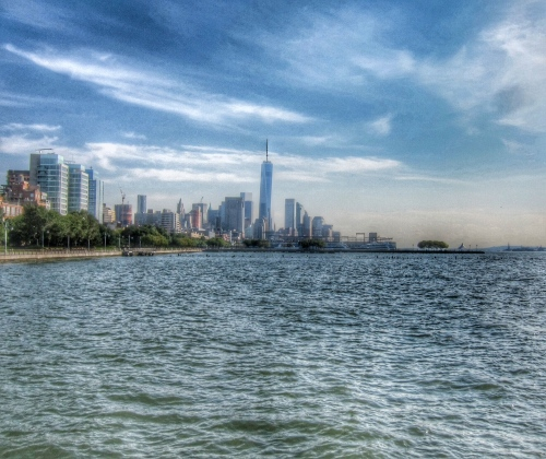 Lower Manhattan and 1 World Trade Center (HDR)