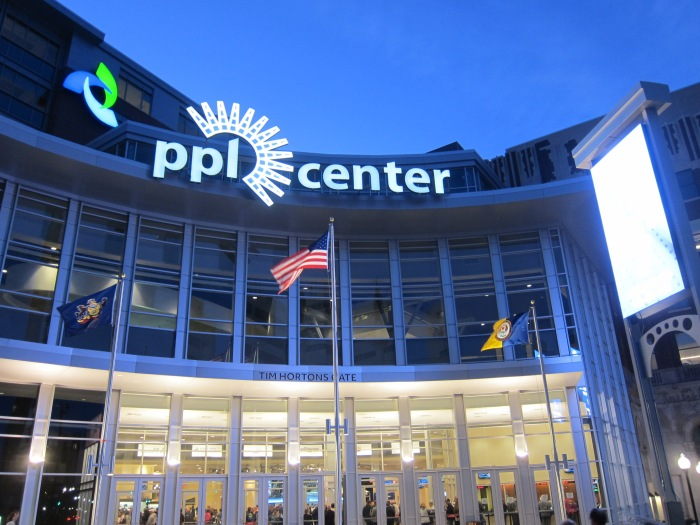 The Front Gate of the PPL Center