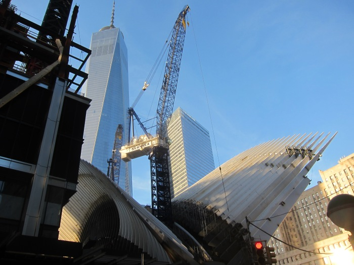 1 WTC and the new WTC Transit Station