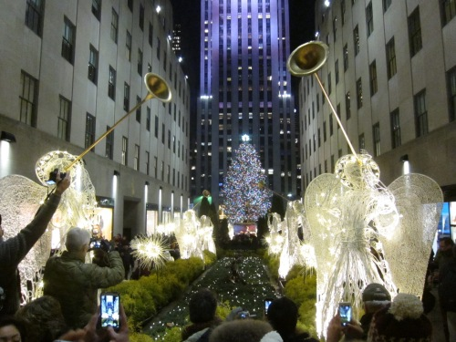 The Christmas Tree at Rockefeller Center (Nov 2014)