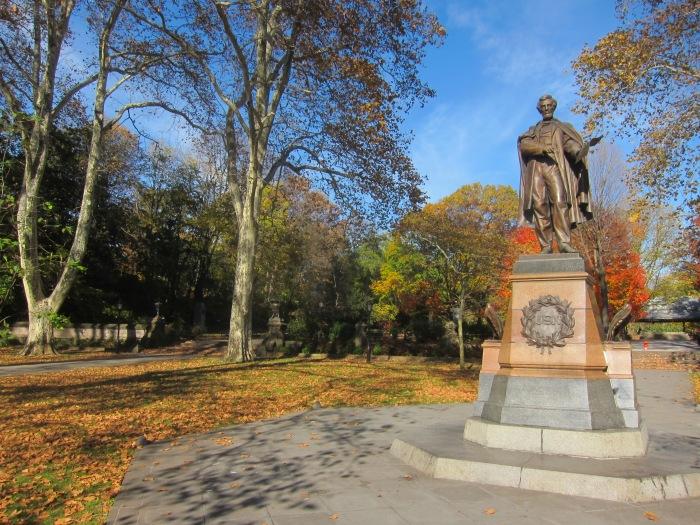 Abraham Lincoln statue, Prospect Park, Brooklyn