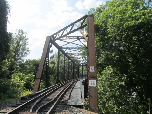 Railroad Bridge in Phillipsburg, NJ