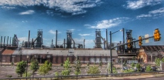The Blast Furnaces at Bethlehem Steel in HDR