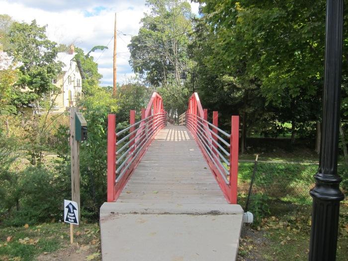 Footbridge In Riegelsville, PA