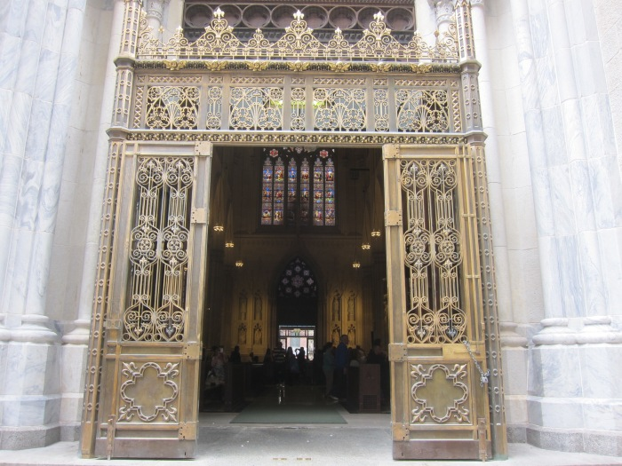 St. Patrick's Cathedral Side Entrance (50th St.)