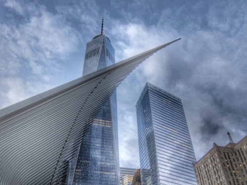 1 World Trade Center in HDR, NYC