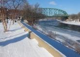 Deep Blue Delaware, Winter in Easton, PA