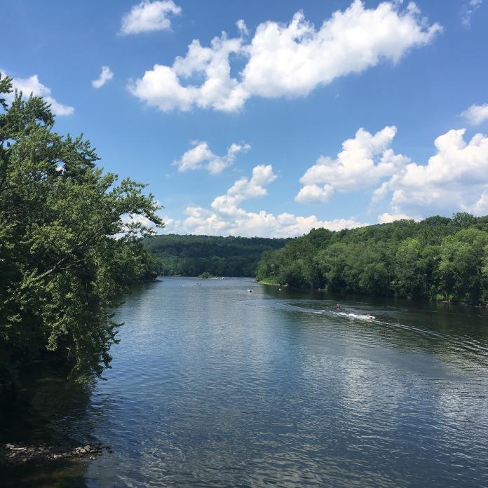 Delaware River N fr Riegelsville