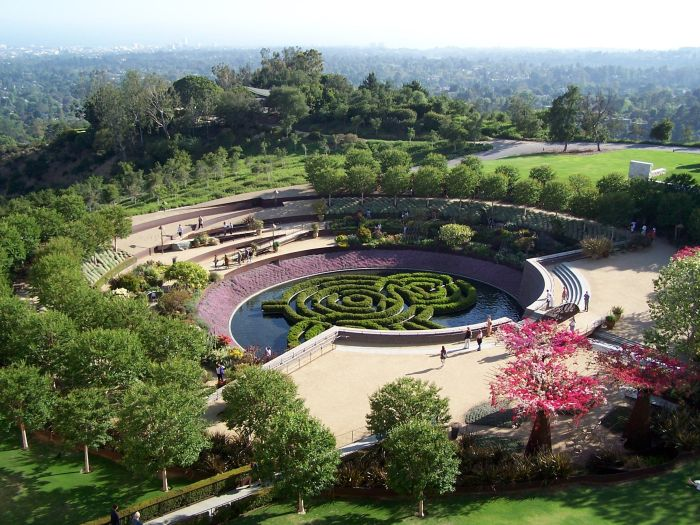 GMF Gallery - Getty Museum Cen Garden