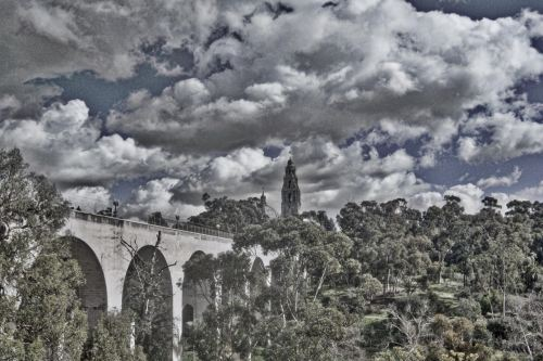 Cabrillo Bridge Tonality HDR