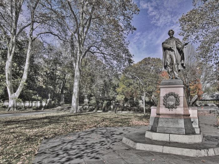 Prospect Park Lincoln HDR