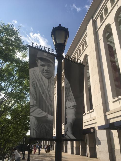 Babe Ruth sign at YS