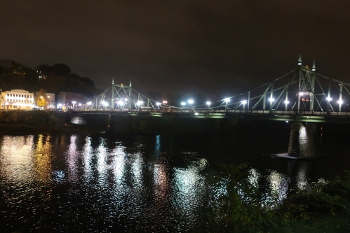 Free Bridge at Night