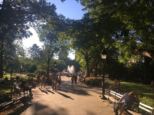 4-Washington Sq Park Summer SE