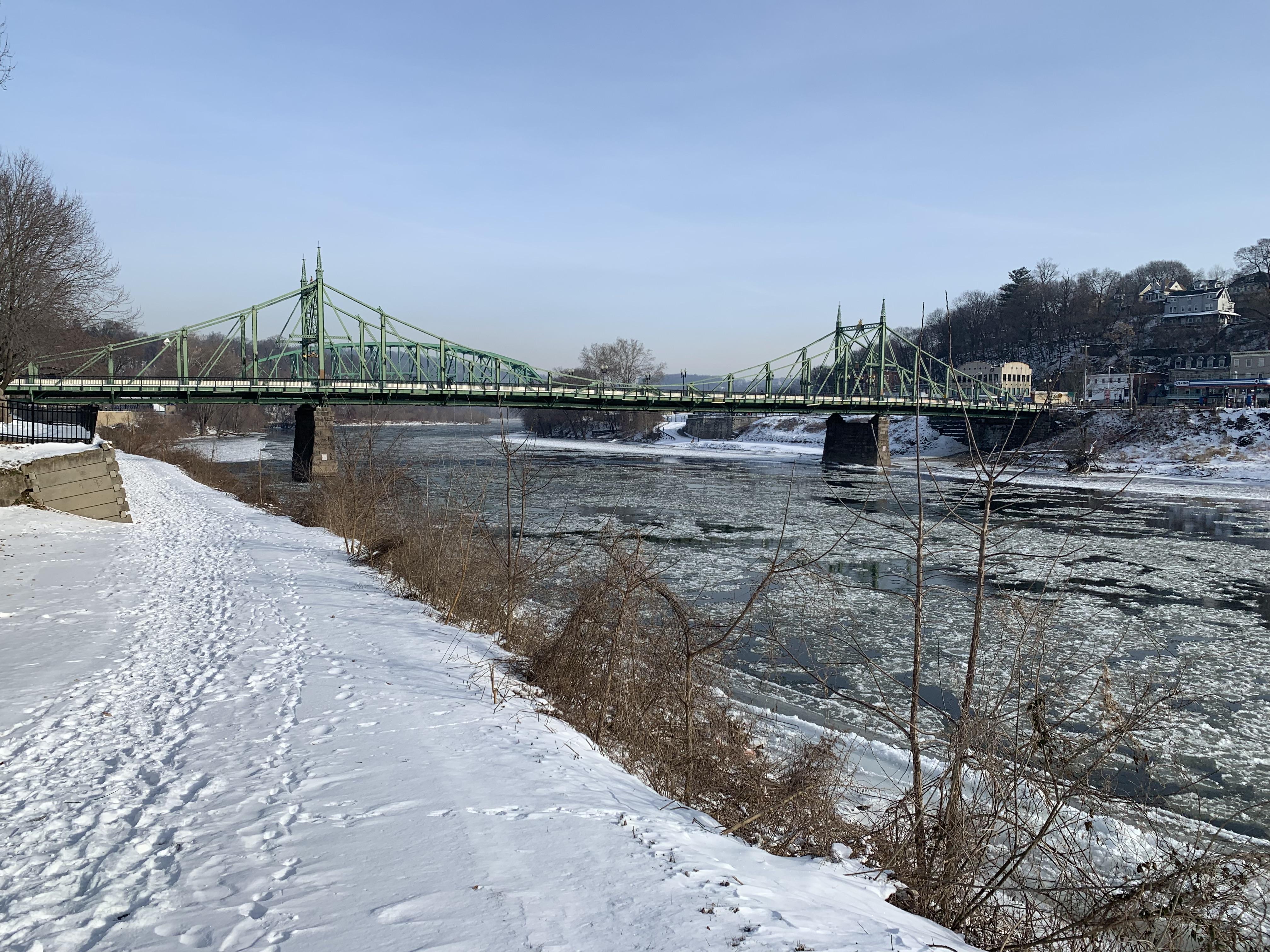 Delaware River Ice